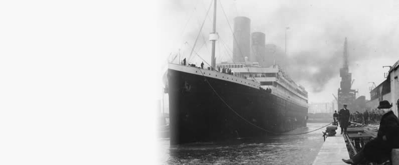 Ryan Shepheard Travels to Titanic